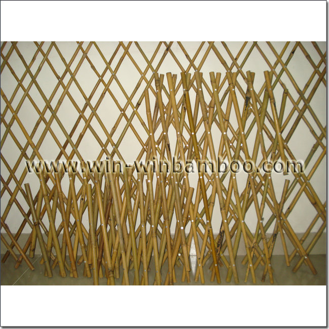 prb bamboo screen blind expandable trellis